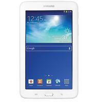 "SAMSUNG GALAXY TAB 3 SM-T110 LITE 7"" ANDROID TABLET WHITE 8GB WIFI BRAND NEW"