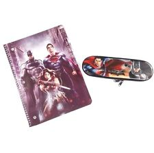 Batman VS Superman Stationery Set Pencil Case and Notebook School Supply