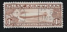 US C14 $1.30 Air Mail Used VF-XF SCV $375