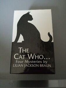 The Cat Who...Four Mysteries Box Set by Lilian Jackson Braun