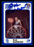 Bob Burrow #164 signed autograph auto 1988 Kentucky's Finest Collegiate Card