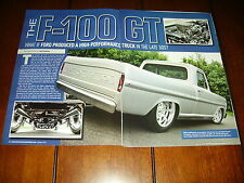 1968 FORD F-100 428 HOT ROD PICK UP SHORTBED   ***ORIGINAL 2010 ARTICLE***