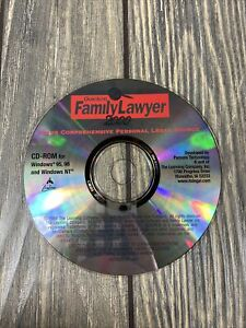 Quicken Family Lawyer 2000 The Learning Company CD PC Computer Program Disc