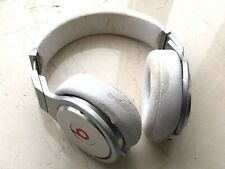 Monster Beats by Dr. Dre Pro Headphones - White/Silver (GENUINE)