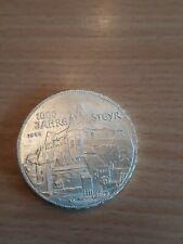 500 schilling österreich Silber 1000 Jahre Steyr 1980