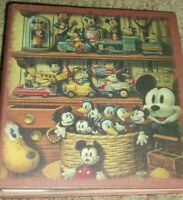 Walt Disney World Retro Mickey Mouse Donald Duck Photo Album Planes Cars Toys