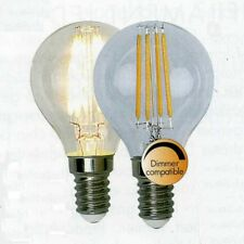 Illumination LED Filament Leuchtmittel GE14 230V 400lm 3,2W 2700K dimmbar 352-15
