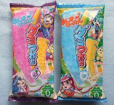 2 PCS SET Kracie Gummy Tsureta New Popin Cookin DIY Japanese Candy Making Kit