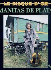 MANITAS DE PLATA le disque d'or FRANCE NEAR MINT LP