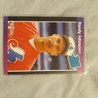 Randy Johnson 1989 Donruss RATED RC Baseball ROOKIE CARD Expos Mariners D-Backs