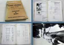 Toyota Landcruiser FJ BJ 40 42 43 45 HJ47 60 Repair Manual Chassis Body 1984