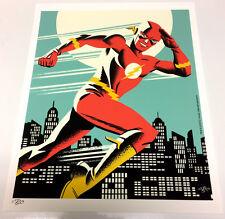Michael Cho SIGNED DC Comic JLA Fine Art Print ~ Barry Allen THE FLASH