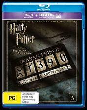 Harry Potter And The Prisoner Of Azkaban (Blu-ray, 2016, 2-Disc Set)