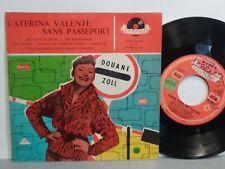 CATERINA VALENTE Sans passeport Bouquet de reves 20571 FRANCE