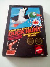 Jeu de/Gioco di Duck Hunt pour le NES Mattel version boîte noire. G.W.O.