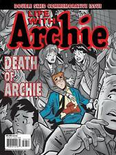 LIFE WITH ARCHIE DEATH DOUBLE SIZED COMMEMORATIVE ISSUE MAGAZINE #36 & #37