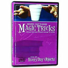 Amazing Easy to Learn Magic Tricks - Tricks with Everyday Objects - DVD - New