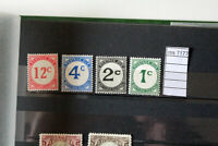stamps brithis guyane mh* postage due yvert 1/4  (ros7177)