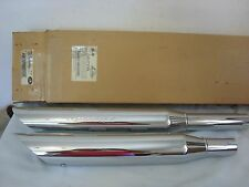 HARLEY SOFTAIL SCREAMIN EAGLE EXHAUST MUFFLERS #80344-00 SLASH DOWN SHOTGUN SE