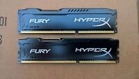 Kingston HX316C10FB/4 8GB PC3-12800 DDR3 1600 SDRAM CL10 2 x 4GB PC Memory