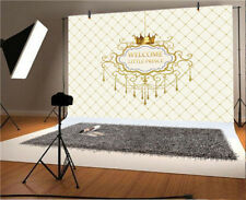 Welcome Little Prince Studio Background Wall Shooting Backgdrop Props Grid Beig
