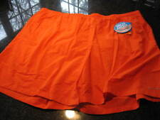 NWT - Mens COLUMBIA Orange Lined Swimsuit BACKCAST Water Short (4X)