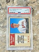 2017 Topps Heritage Mike Trout #363 PSA 10 GEM MINT Los Angeles Angels MVP Star