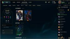 League of Legends Account [ NA ]! OVER 310 + SKINS! !ALL CHAMPIONS UNLOCKED!