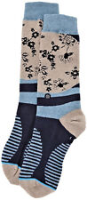Calcetín Azul Para Hombre Stance Men Calcetines Top Deformación De Stich Knir
