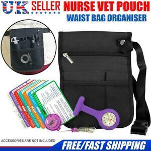 Nurse Vet Pouch Waist Bag Pocket Pick Medical Organiser Adjustable Belt Strap UK