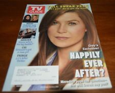 August 25-31, 2008 issue of TV Guide Ellen Pompeo   #352