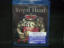 ROYAL HUNT 2016 Live 25th Anniversary JAPAN BLU-RAY Silent Force Andre Andersen