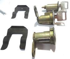 Lincoln Ignition Switch Lock Cylinder + Pair(2) Door Lock Cylinder W/2 Logo Keys