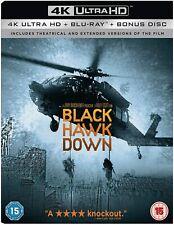 Black Hawk Down 4K Ultra High Definition HD UHD + Blu-ray (New Sealed 4K)
