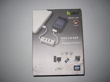 USB 2.0 HUB + Ladekabel I Phone 3G/3GS/4G/4GS  2 in 1