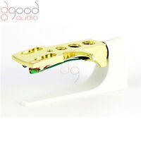 Gold headshell cartridge wire, stylus for turntable, stanton kam Technics DJ