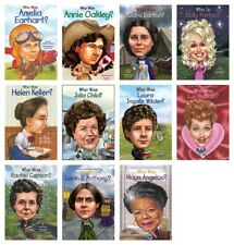 NEW 11 Who Was America Women Set Lot Pack Biographies Paperback Series History