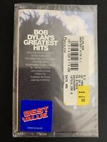 Bob Dylan's Greatest Hits SEALED Cassette Comp Columbia CT 65975 Folk Rock