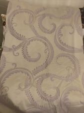 "Laura Ashley ""Marchmont Amethyst"" Lined Curtains 152cm W X  156cm L Vgc"