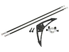 Microheli Blade 230 S / 250 CFX Silver Tail Boom Support & Fin Set MH-230S023S