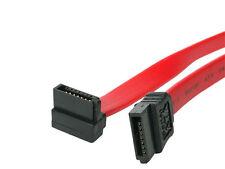 Câble Serial ATA SATA vers SATA à angle droit 20 cm , rouge.