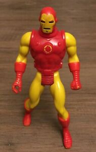"""Vintage 1984 Mattel Marvel Secret Wars Iron Man Loose 4"""" Action Figure"""