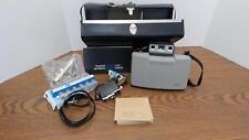 1960s Polaroid 220 Land Camera & 268 Flashgun/Original Case & Manual