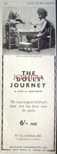 1932 'THE DOLL'S JOURNEY' Children's Book Ad - Original Print Advert