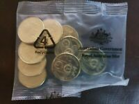 2020 $1 x 10 UNC Coins QANTAS Centenary In Sealed RAM Bag