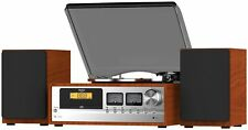 Bush Classic Retro Combo Turntable With Bluetooth, CD, FM Radio TT1862