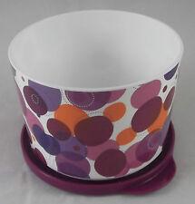 Tupperware Iluminas Klick und Stapel Dose 800 ml Lila Violett Bunt Neu OVP