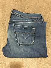 RARE DIESEL JEANS LOWKY 73J, 0073J, SZ: W28 L34, MADE IN ITALY, GREAT CONDITION