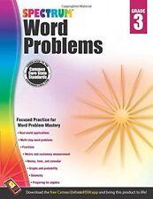 Word Problems: 3rd Grade, Kids Workbooks Learning Home School Teaching Materials