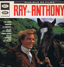 LP RAY ANTHONY MUSIQUE DE FILMS TOM JONES CHARADE MR NOVAK